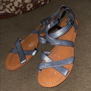 Coach sandals flats